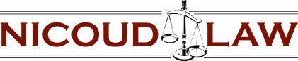 Nicoud Law, Header logo